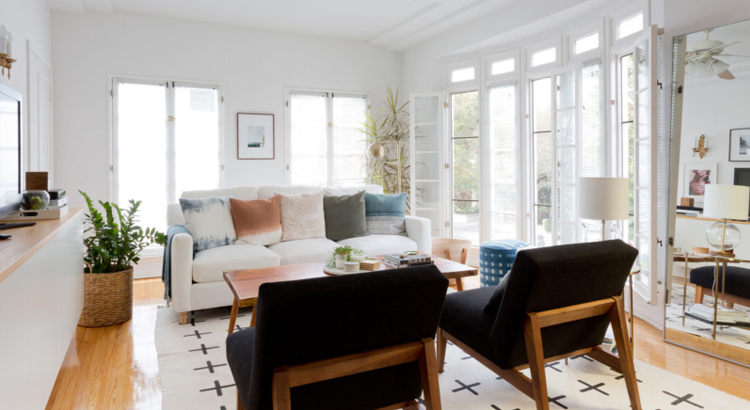 A bright house is important when selling it
