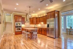 gourmet kitchen in 100 great pine court