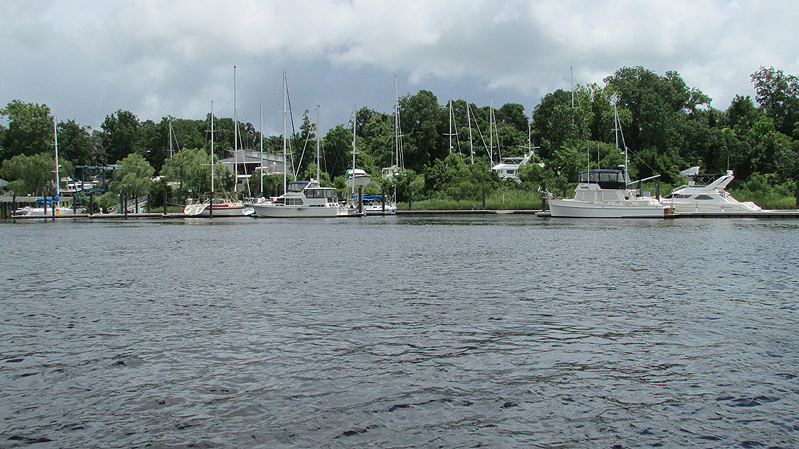 photo of Cape Fear Marina on the Cape Fear River