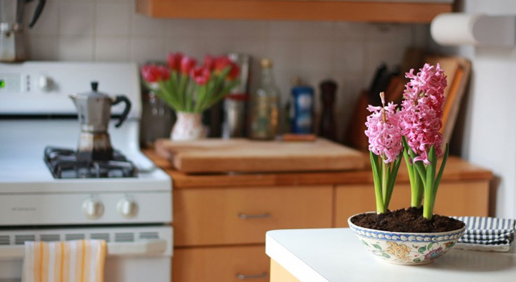 The smell of flowers can help sell your home