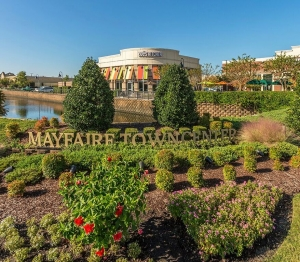 Photo of the Mayfaire Town Center and Zoe's Kitchen