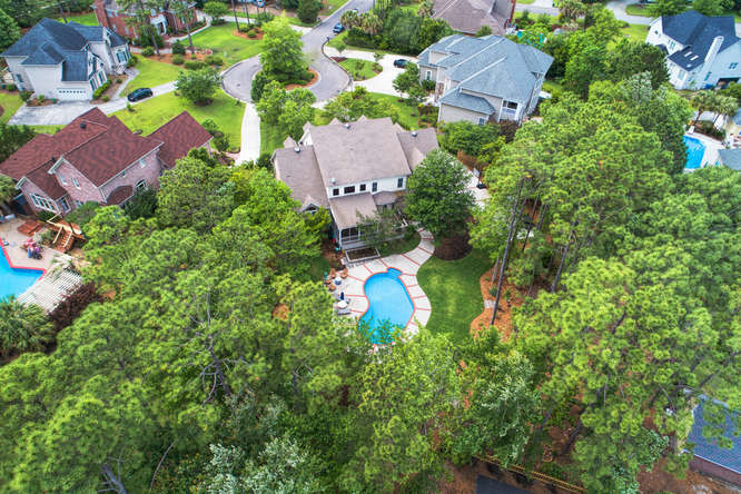 drone photo of 3557 Iris St for sale in Wilmington, NC