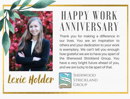 Happy Work Anniversary – LEXIE HOLDER