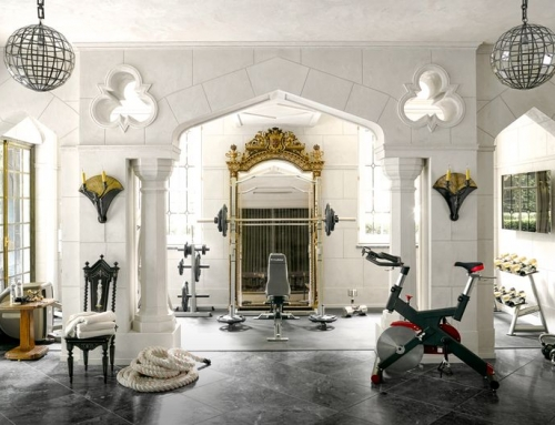 "HERE'S HOW TO PUT THE ""WOW"" INTO YOUR HOME WORKOUT SPACE"
